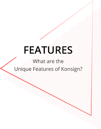 Features of Konsign